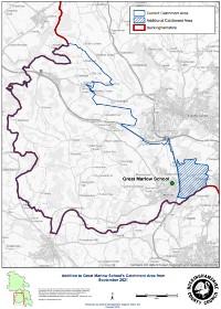 Catchment Area Map